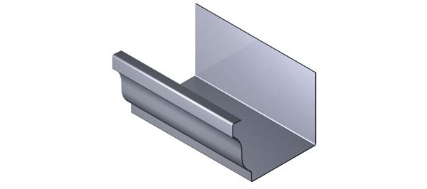 Aluminium Gutter - Ogee Range