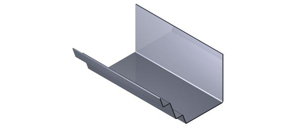 Aluminium Gutter - River Range