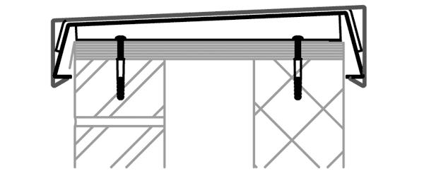Weatherstruck Aluminium Coping System