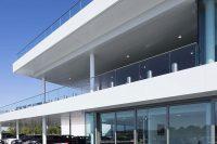 Cotswold BMW – 750m+ Complete Aluminium Eaves System with  2000m² Secret Fix Soffit Panels. Oriel window surrounds