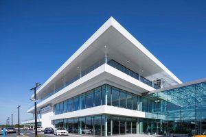 750m Complete Aluminium Eaves System & Dales Support-work with 2000m² Secret Fix Soffit Panels. Oriel window surrounds