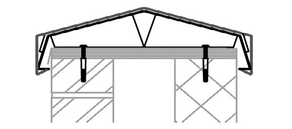 Ridgeway Aluminium Coping System
