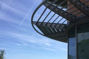 The Wing: Aluminium Brise Soleil: Shadex 150 System