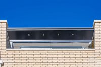 Green Park, Reading: Raking Fascia Soffit: Monocoque Support System