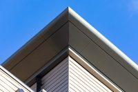 Osbourne Gate, Bracknell: 600m Bullnose Fascia & Raking SF Panels, 320m Meridian Coping, 250m Balcony Fascias
