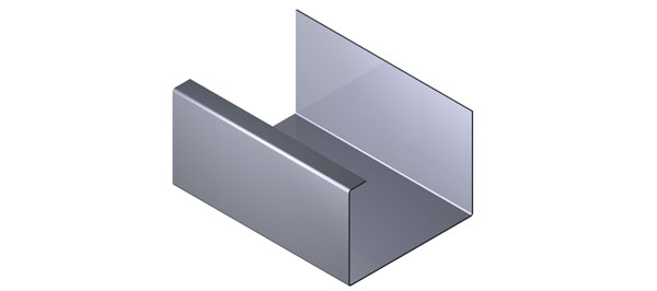 Aluminium Gutter - Delta Range